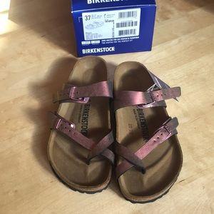 e5f8e9a245d70c Birkenstock Shoes - Brand New - Birkenstock Mayari Graceful Gem Red 37